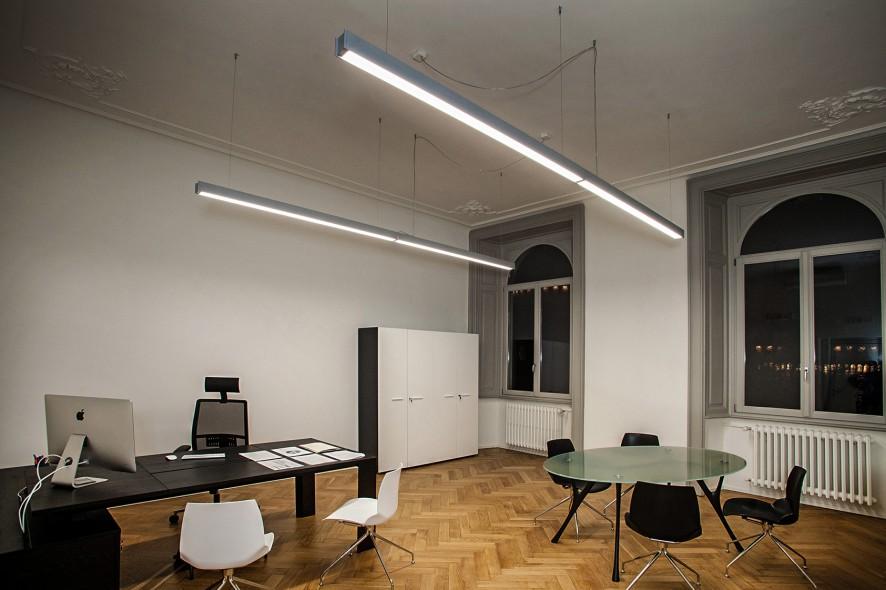 Illuminazione Per Ufficio.La Luce Per L Ufficio Rossinillumina