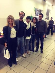Tiziana con la famiglia Rossini