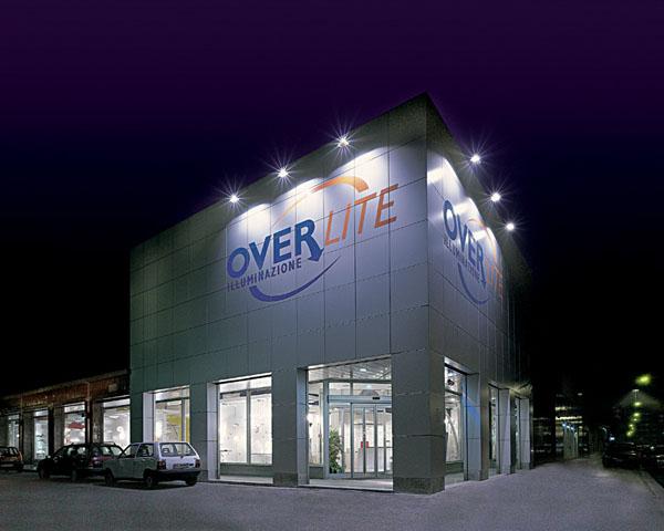 overlite showroom Rossini esterno