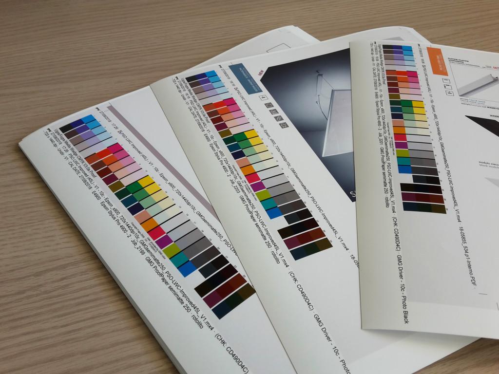 Prove di stampa catalogo TECH19