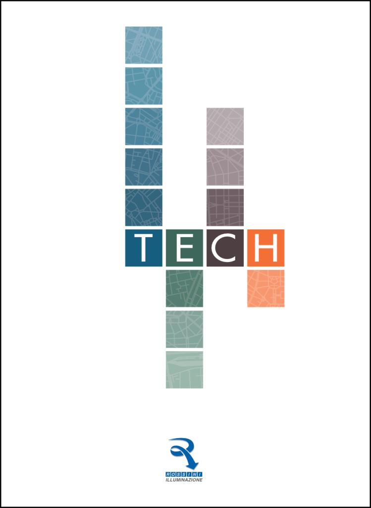 Copertina Catalogo Tech19 Rossini Illuminazione